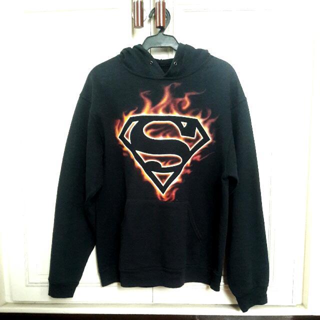 VIRGIN MEGASTORE Superman Hoodie Jacket