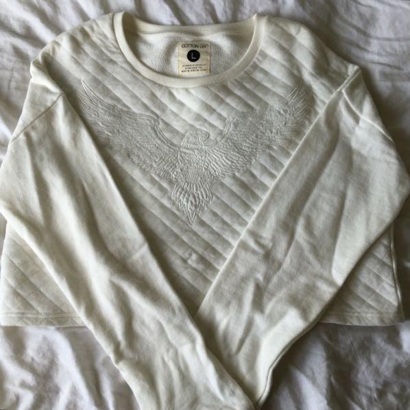 White Cotton:On Jumper