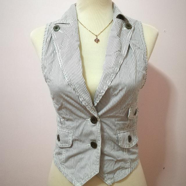 Women's Stripe Vest Chaleko