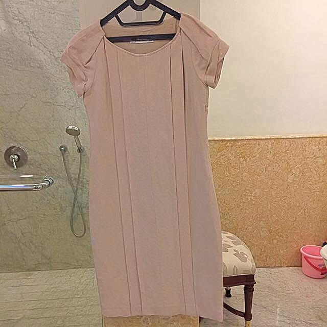 Zara Pink Dress Size S