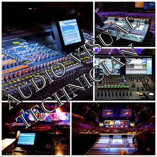 LOOKING FOR AUDIO VISUAL TECHNICIAN