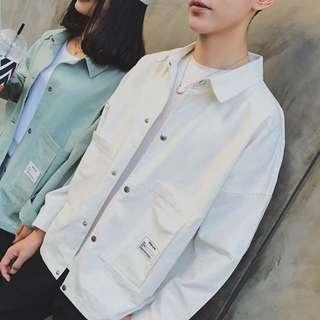 [INSTOCK] Korean High Quality Outerwear Cream White