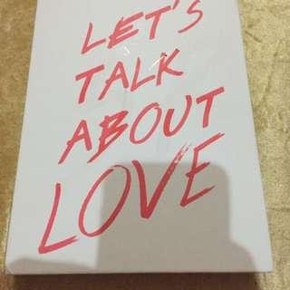 Seungri Bigbang - Let's Talk About Love Original Album