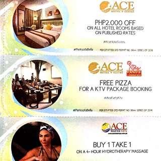 Ace Hotel & Suites Vouchers