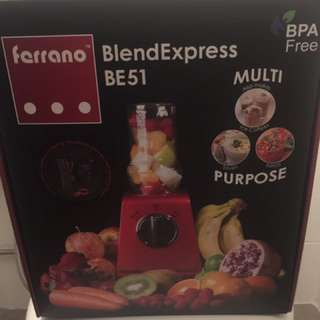 Juice Blender With Portable Tumbler