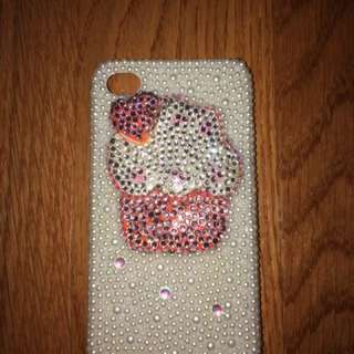 Swarovski Crystal iPhone 4/4s Phone Case