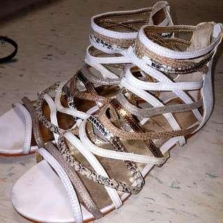 Aldo Size 7 Summer Open Shoes