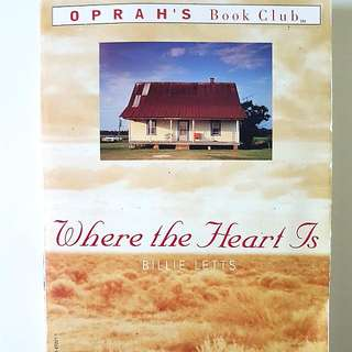 Where The Heart Is Paperback