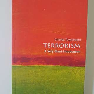 Terrorism A Very Short Introduction Paperback