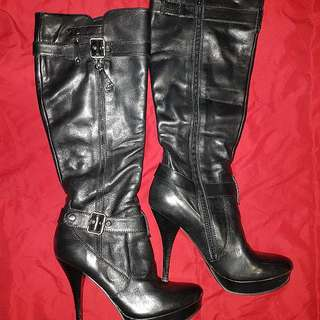 Authentic Boots By Guess Size 6