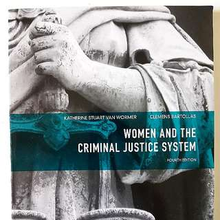 Women And The Criminal Justice System Textbook