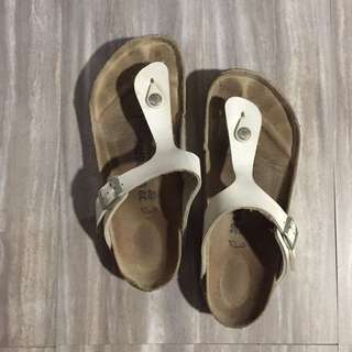 Birkenstock Thong White Size 39