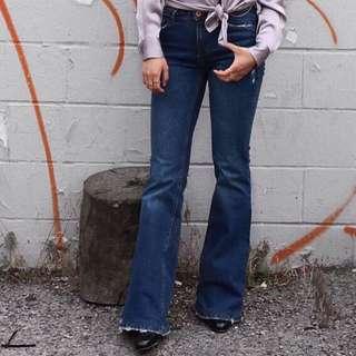Zara Denim Flare Jeans