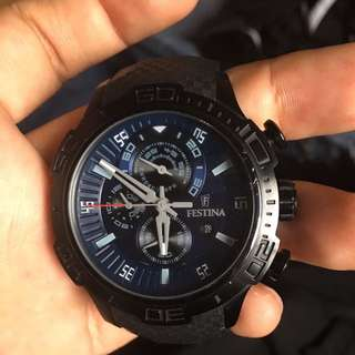 Festina Watch Chronograph