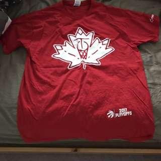 RAPTORS 2017 GAME PLAYOFF T- Shirt