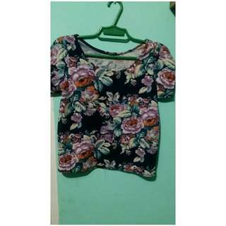 Floral Hanging Blouse