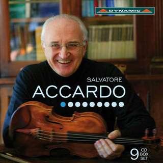 魔鬼帕格尼尼的第一把交椅 阿卡多的絕世琴藝 CD (9片裝) Salvatore ACCARDO