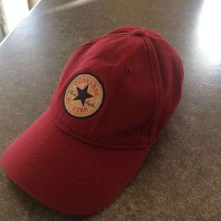 Red Converse All star Dad Hat