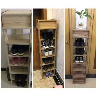 wooden shoe rack Ready Stock NEW