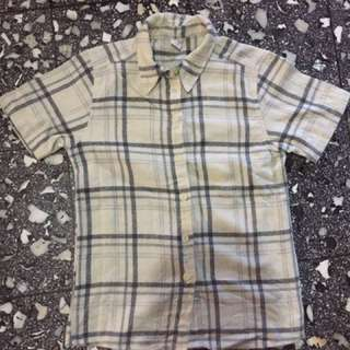 (150rb dpt 8 Baju!) Kemeja Flannel Kotak Putih