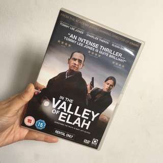 "DVD Original ""In the Valley of Elah"""