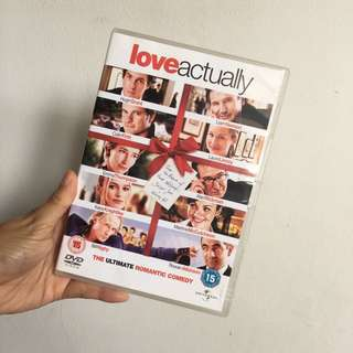 Original DVD Love Actually