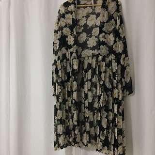 Full Length Kimono (Pleated)