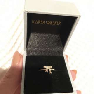 Karen Walker Bow Ring