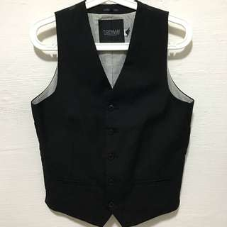 Tuxedo Vest (Topman)