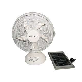 Rechargeable Fan with Solar Panel HT8012FLS