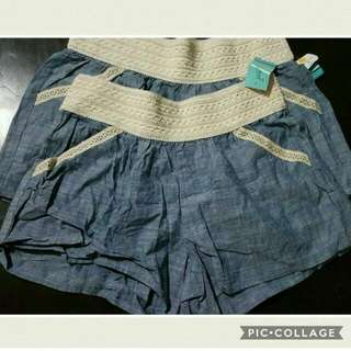 Just Be Lace Short