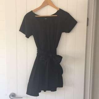 May Tie Mini Dress