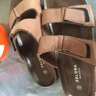 Zalora Men Basic Slides/Sandals