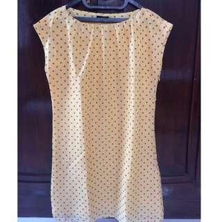 (REPRICE) The Executive Yellow Dress