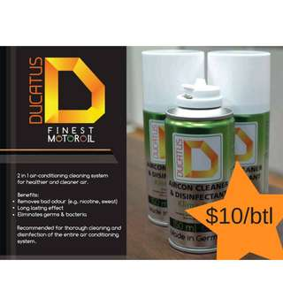 Ducatus Aircon cleaner Disinfectant
