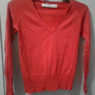 Red Longsleeve Imported