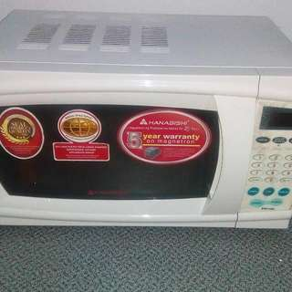 Microwave Oven . 2nd Hand . Slightly Used .