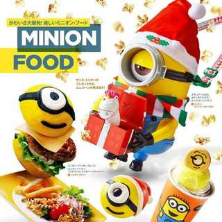 Minion 日本環球影城聖誕節版爆谷桶