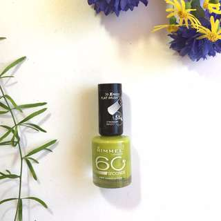 Rimmel 60 Seconds Nail Polish in Limealicious