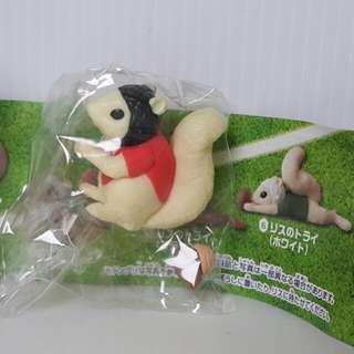 【黑皮GO】松鼠扭蛋公仔/松鼠玩具