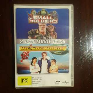 Small Soldiers And Thunderbirds Movie Pack