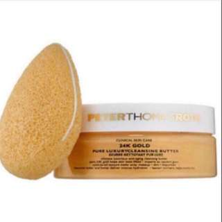 (50% off!!) BNIB PETER THOMAS ROTH 24K Gold Pure Luxury Cleansing Butter