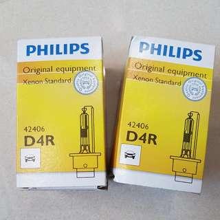 Philip D4R HID Bulbs