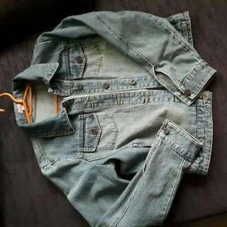 Canal Brand Denim Jacket