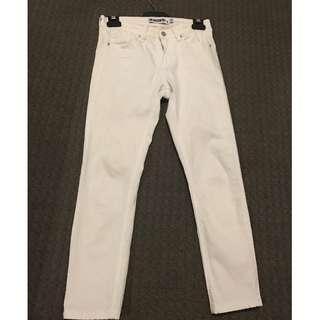 The Rockin Rev White Jeans