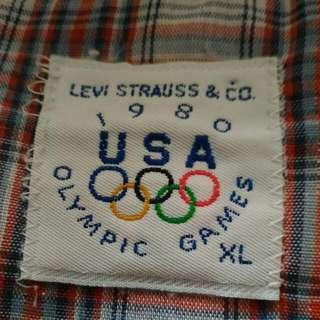 levis usa western shirt
