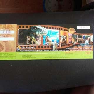 Art in Island Interactive Art Museum Ticket