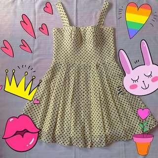 Vintage Dress Polkadot