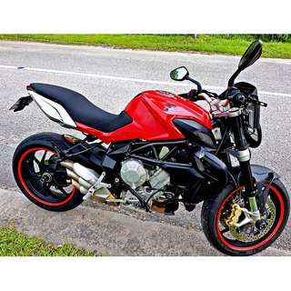 *Reserved* MV Agusta Brutale 675. COE Oct 2022