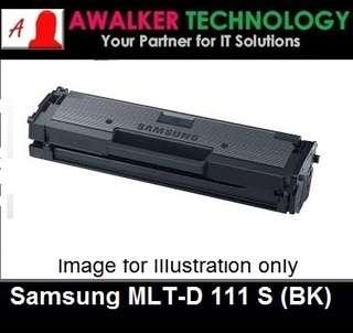 Samsung MLT-D111S Black Compatible Laser Toner Cartridge 1000 Pages Remanufactured Printer Model SL M2020 SL M2020W SL M2022 SL M2022W SL M2070 SL M2070W SL M2070FW MLT-D 111S